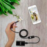 Endoszkóp, boroszkóp kamera 5M ANDROID iPhone ios 720P HD