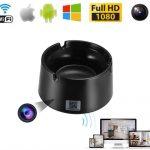 Rejtett / Rejthető WIFI Kamera 07 – kamera hamutálba építve 1080P mozgásérzékelős