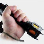 Taktikai Zseblámpa LED zseblámpa, önvédelemi lámpa
