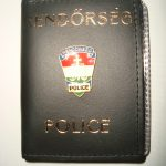 Rendőrségi igazolványtartó / igazolvány tok / Police